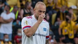 HSV-Profi Toni Leistner hat über seinen Ausraster gegen Dynamo Dresden gesprochen