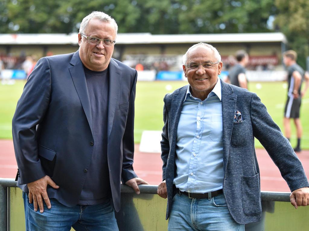 Franz Wohlfahrt (li.) gemeinsam mit Felix Magath