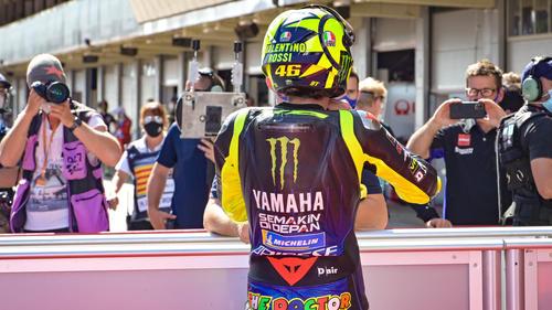 Valentino Rossi gehört zu den Altstars der MotoGP