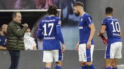 Manuel Baum (l.) hat beim FC Schalke 04 viel Arbeit vor sich