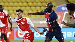 Traf doppelt für Monaco gegen PSG: Kevin Volland