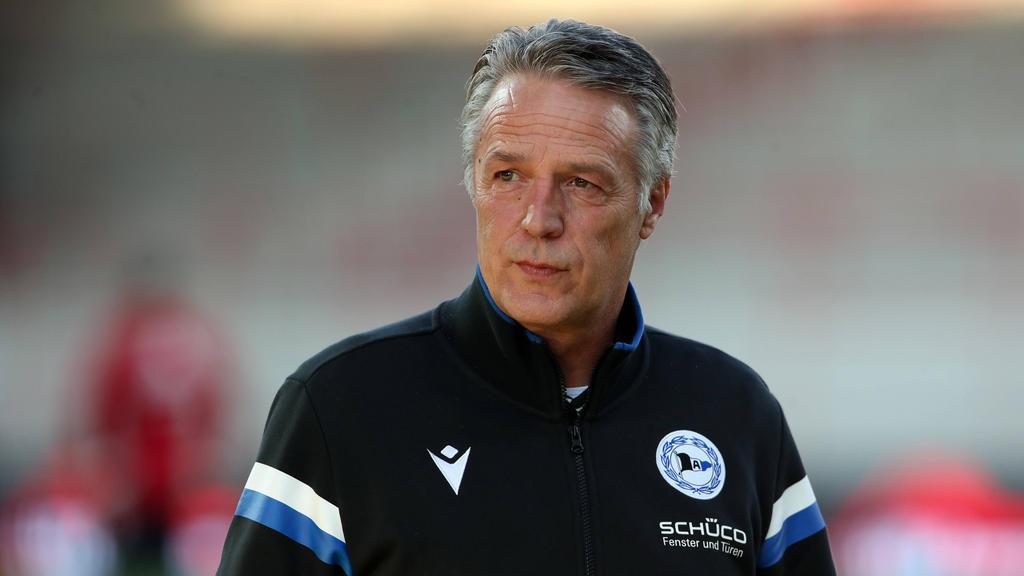 Arminia Bielefelds Cheftrainer: Uwe Neuhaus