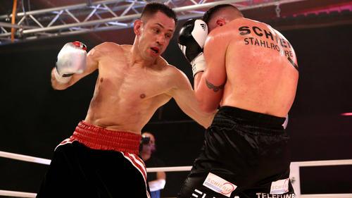 Felix Sturm stieg nach langer Zeit zurück in den Ring