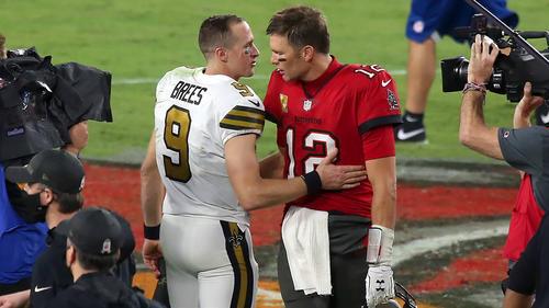 Tom Brady und Drew Brees treffen sich am Wochenende wieder