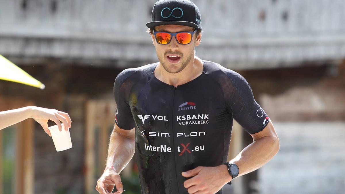 Sebastian Neef überzeugt beim Triathlon-Wintercup