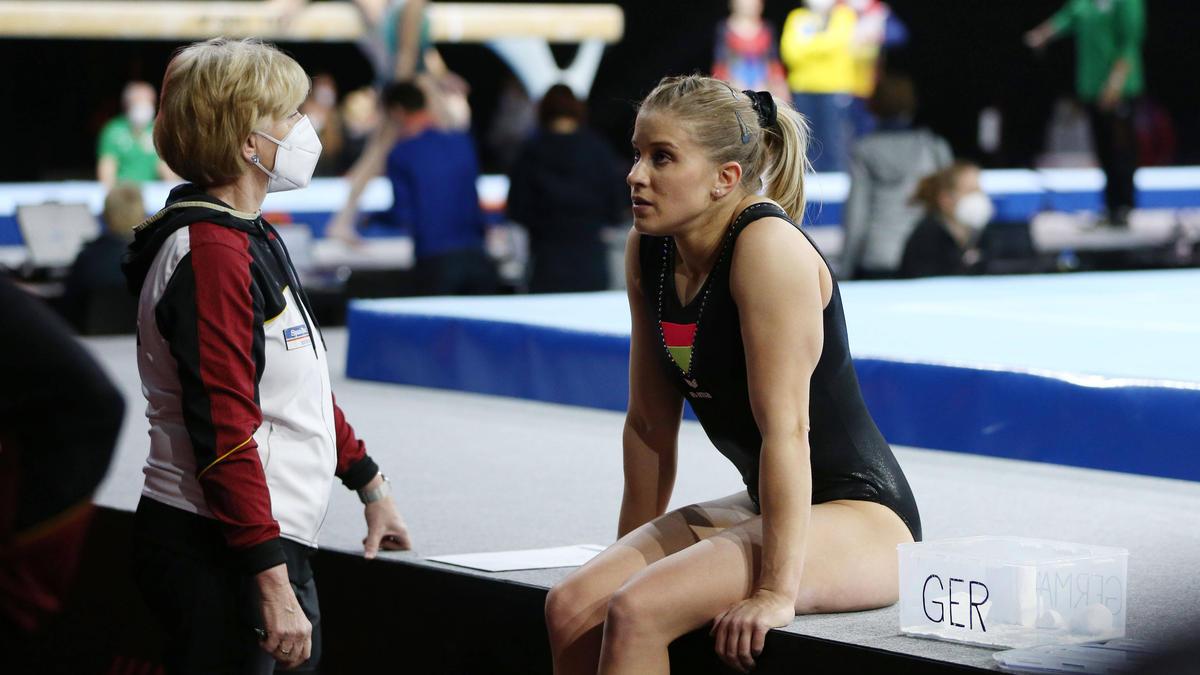 Elisabeth Seitz verpasste eine Medaille bei der Turn-EM