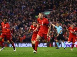En la prórroga surgió Lovren para lograr el gol que provocó el delirio en Anfield. (Foto: Getty)