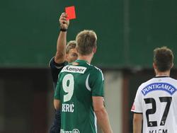 Robert Berič sah gegen seinen Ex-Verein Rot