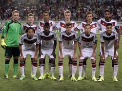 Die deutsche U19-Nationalmannschaft
