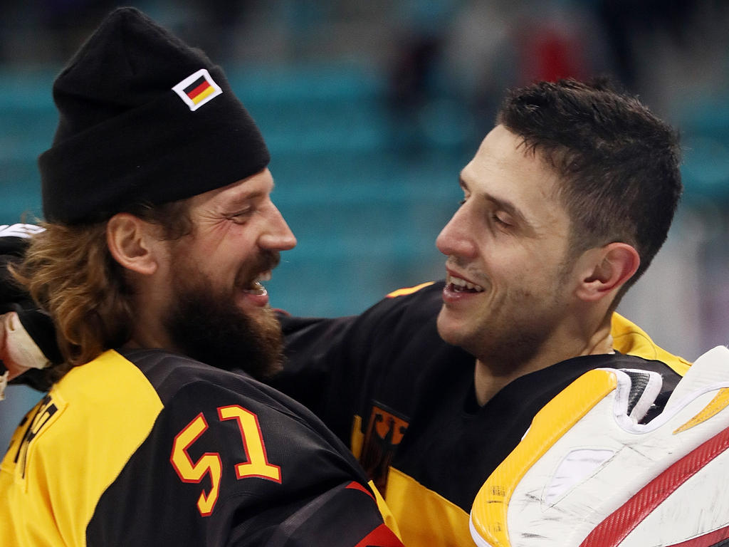 Timo Pielmeier und Marcel Goc feiern den Finaleinzug