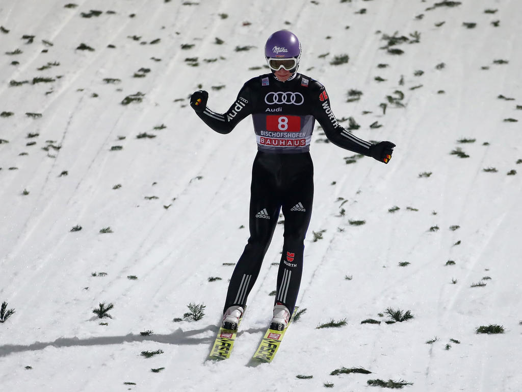 Andreas Wellinger fiel im zweiten Durchgang ab