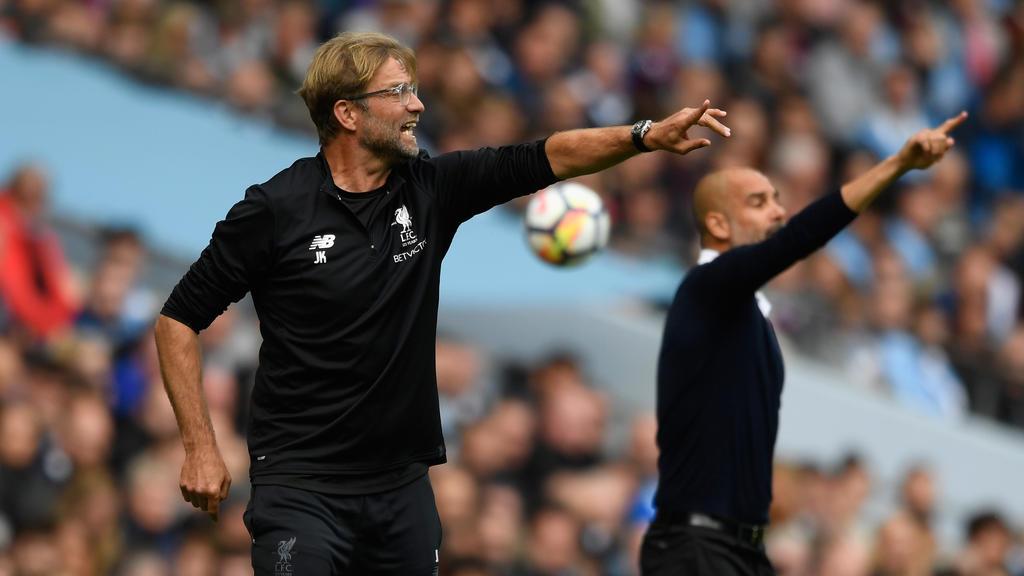 Jürgen Klopp will Pep Guardiola die Meisterschaft streitig machen