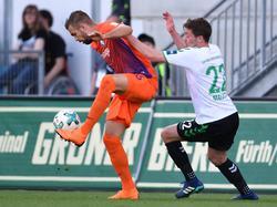 Lukas Hinterseer gegen Greuther Fürth