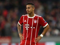 Thiago Alcántara en una imagen reciente con el Bayern. (Foto: Getty)