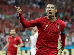 Ronaldo abrió el marcador contra España. (Foto: Getty)