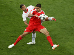 Will auch gegenBrasilien treffen: Serbiens Aleksandar Mitrovic