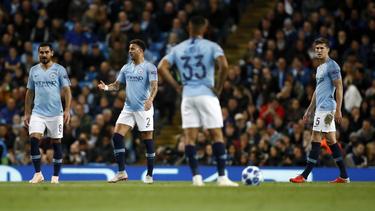 Manchester City verlor im Heimspiel gegen Olympique Lyon