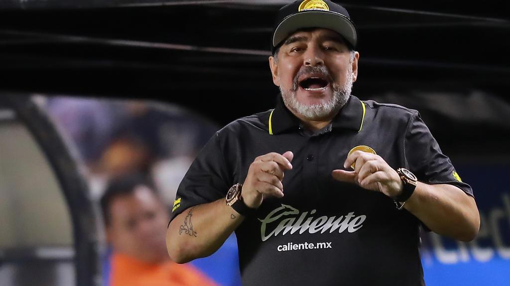 Überraschende Lästerattacke von Diego Maradona