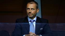 Aleksander Ceferin hat sich zum Thema Super League geäußert