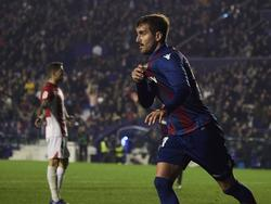 José Campaña brilló con un gol y una asistencia contra el Athletic. (Foto: Getty)