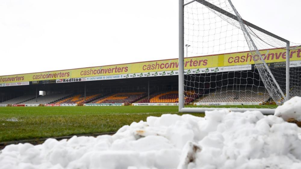 Spielabsage wegen Schneefalls in der 3. Liga