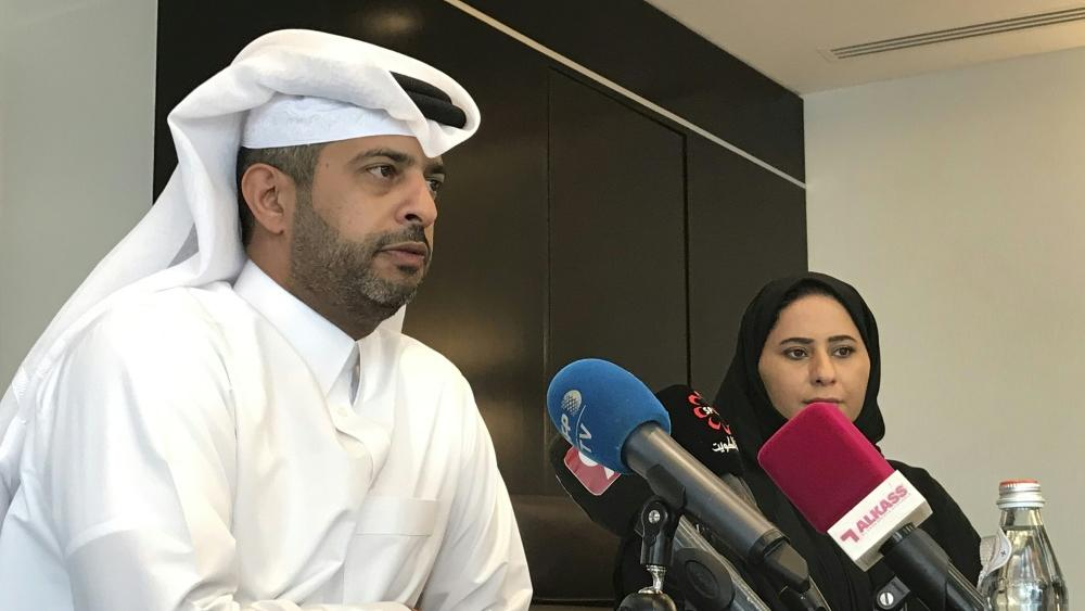 Nasser Al-Khater ist Chef des Organisations-Komitees