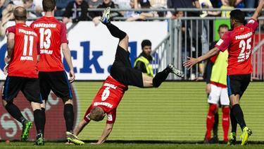 SC Paderborn springt auf den Relegationsplatz der 2. Bundesliga