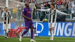 CR7 feiert mit Juventus Turin die Meisterschaft in Italien