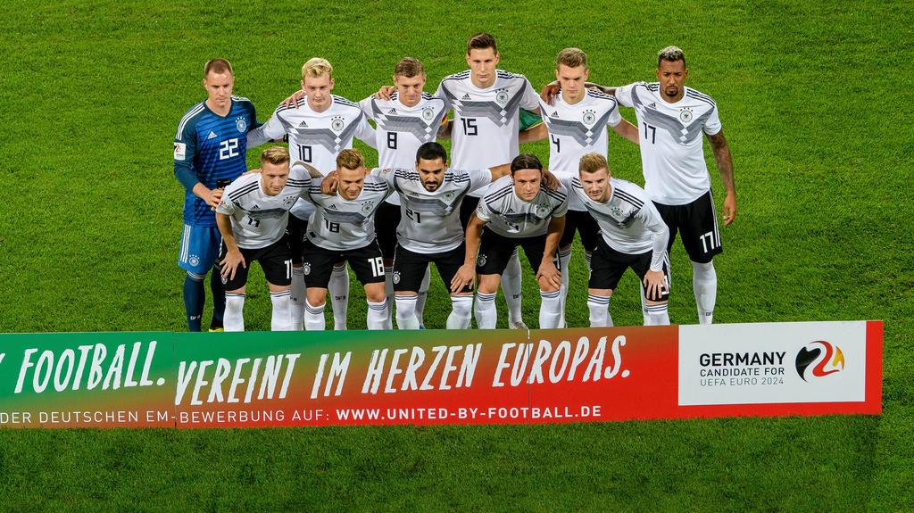 Gegen Peru standen Schulz, Brandt und Reus gemeinsam in der Startelf