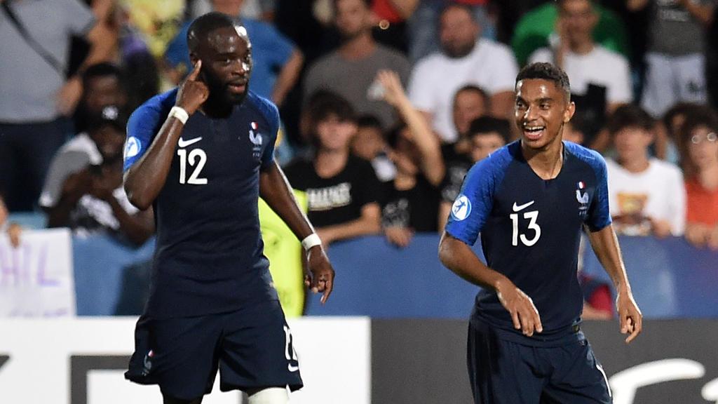 Frankreichs Nachwuchs hat sich knapp gegen die Kroaten durchgesetzt