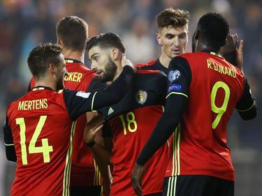 Con este triunfo Bélgica lidera el grupo H con 12 puntos. (Foto: Getty)
