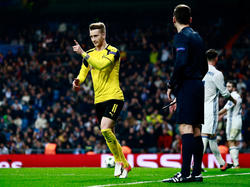 Reus firmó el empate al final del encuentro en el Bernabéu. (Foto: Getty)