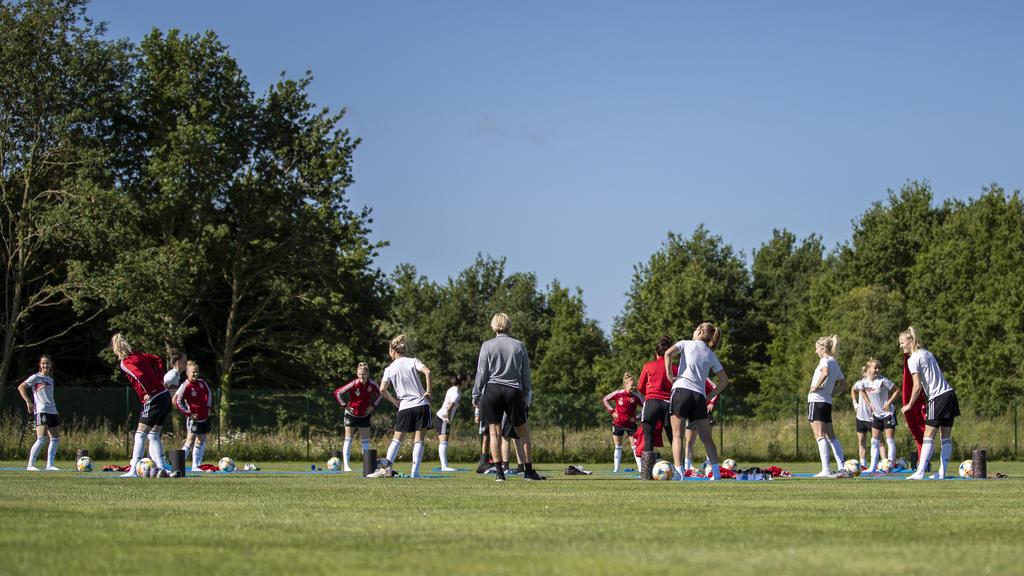 Das DFB-Team ist auf die heißen Temperaturen vorbereitet