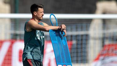 Sandro Wagner blickt auch weiterhin auf seinen FC Bayern