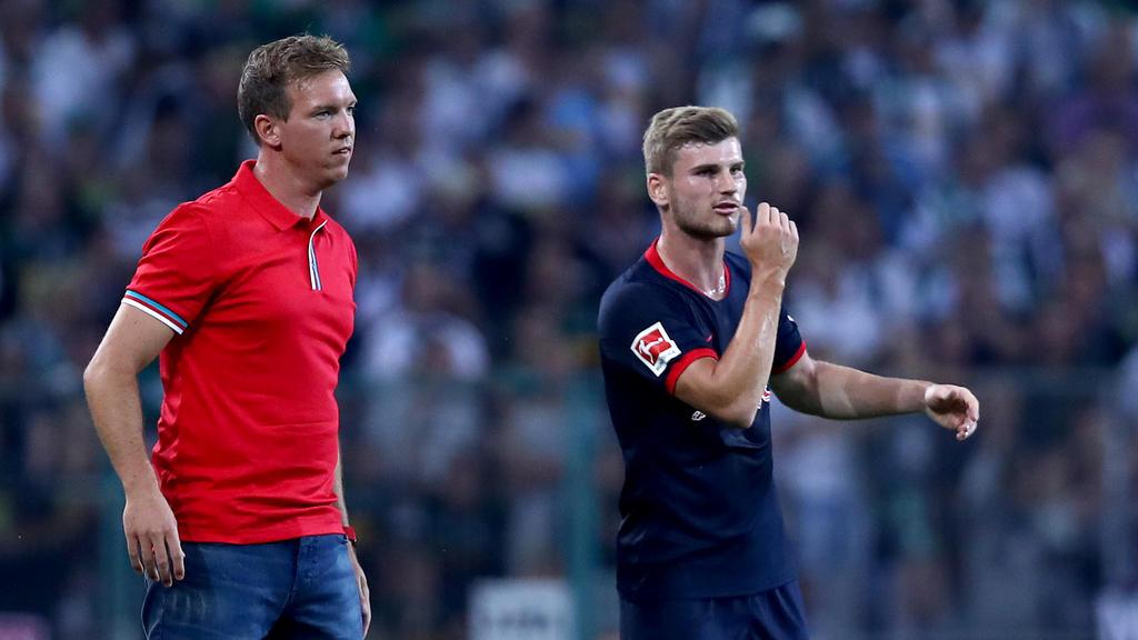 Julian Nagelsmann sieht Werner als wichtigen Faktor gegen den FC Bayern