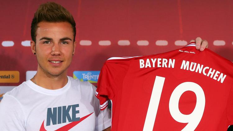 Mario Götze wechselte 2013 vom BVB zum FC Bayern