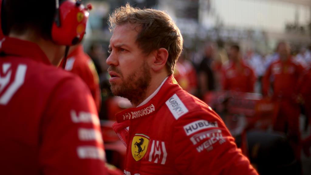 Formel-1-Pilot Sebastian Vettel möchte nach vorne blicken