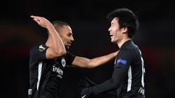 Eintracht Frankfurt siegte beim FC Arsenal mit 2:1