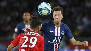 Julian Draxler (r.) steht noch bei Paris Saint-Germain unter Vertrag