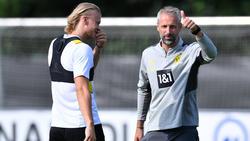 BVB-Coach Marco Rose hat wohl seine favorisierte Taktik gefunden