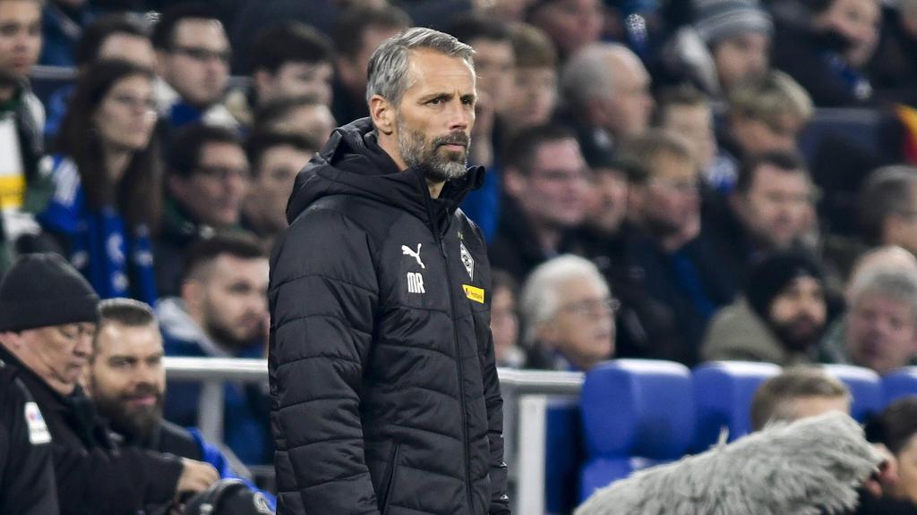 Gladbach-Coach Marco Rose konnte nicht zufrieden sein