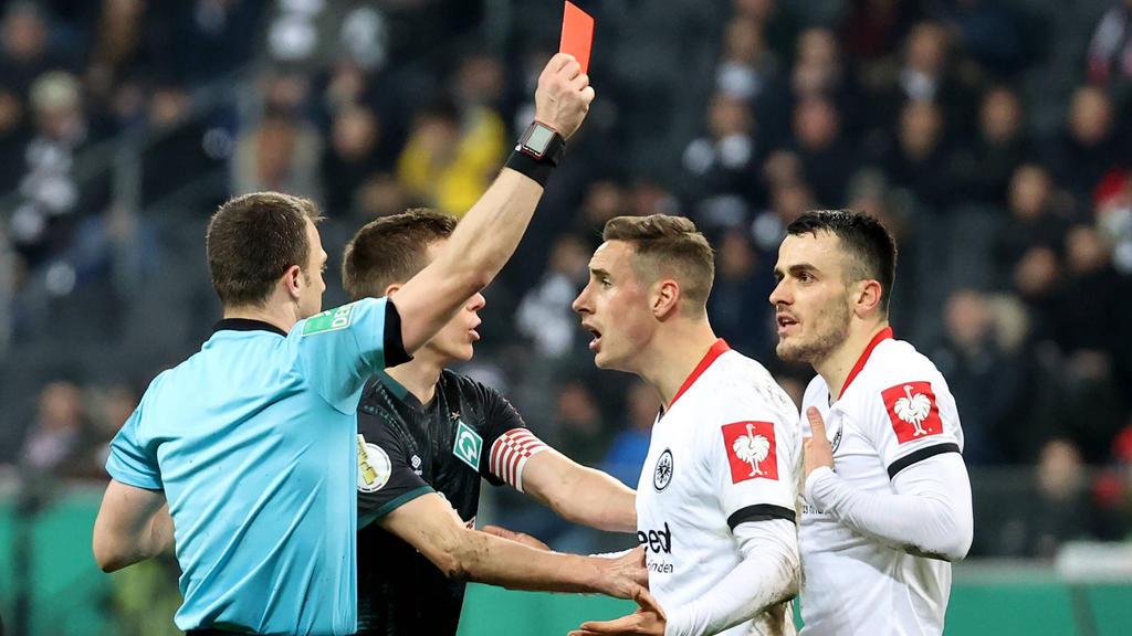 Filip Kostic von Eintracht Frankfurt bleibt für vier DFB-Pokalspiele gesperrt