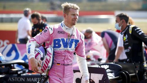 Musste in Silverstone körperlich etwas leiden: Nico Hülkenberg
