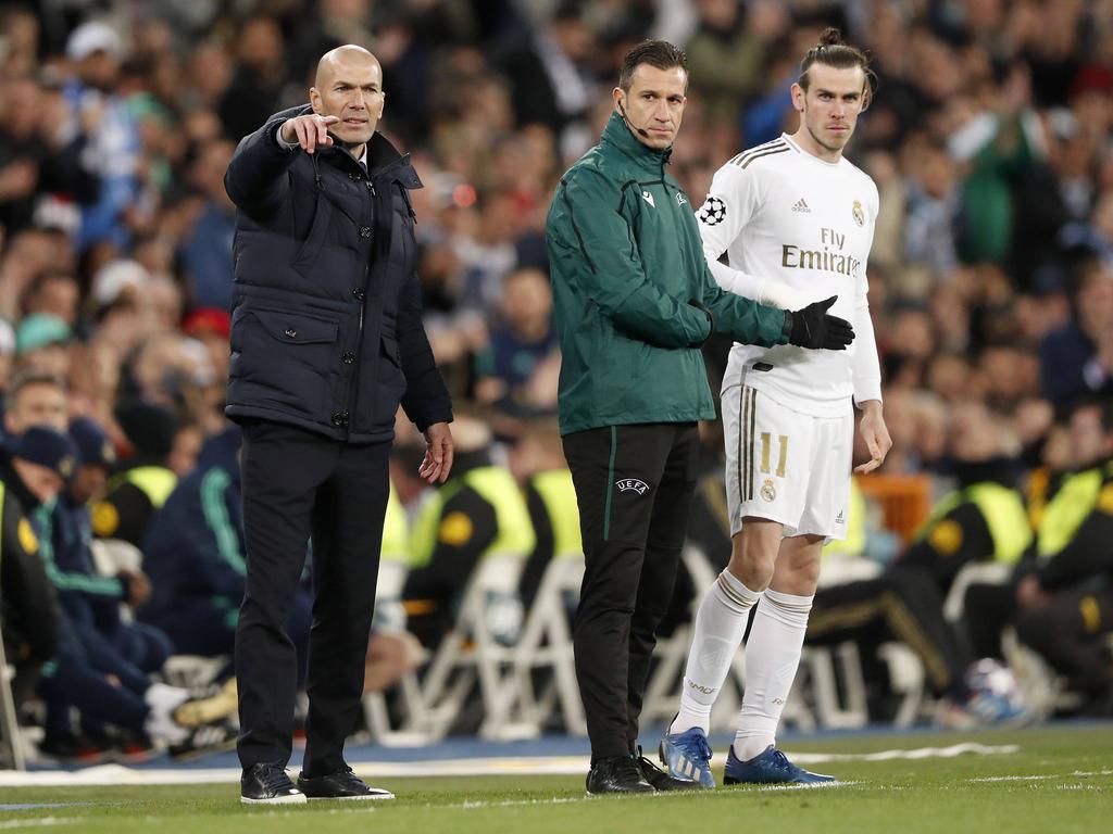 Zidane no tendrá a sus órdenes a Bale este año.