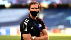 Triplesieger mit dem FC Bayern: Leon Goretzka