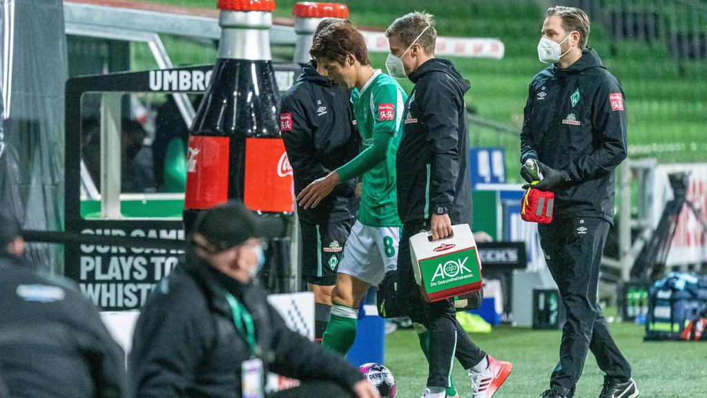 Yuya Osako hat sich möglicherweise schwerer verletzt