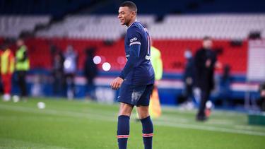 Kylian Mbappé brachte PSG in Führung