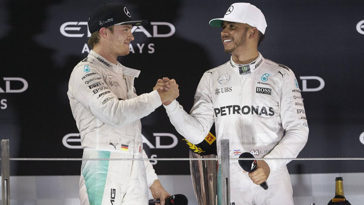 Nico Rosberg und Lewis Hamilton lieferten sich bei Mercedes einen erbitterten Kampf