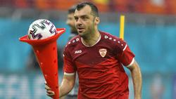 Goran Pandev und Nordmazedonien-Trainer Igor Angelovski verstoßen gegen Corona-Protokoll