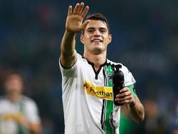 Granit Xhaka könnte die Borussia bald verlassen